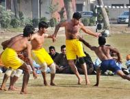 40th national kabaddi championship (circle style) 2018 at, lahore