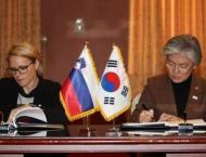 South Korea, Slovenia sign social security agreement
