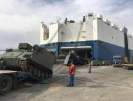 US gives Jordan 150 armored vehicles to boost army strength