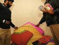 Police arrest four for selling kites from Sialkot