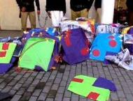 9 kite-sellers arrested from Sargodha