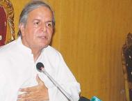 Makhdoom Javed Hashmi stresses unity to overcome crises