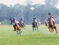 One match decided in Aibak Polo Cup