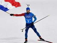 Martin Fourcade wins record fifth Olympic gold for France