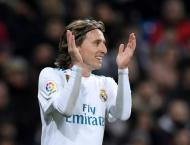 Modric the latest to join Real Madrid injury list