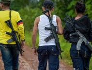 Colombian police die in clash with 'FARC dissidents'