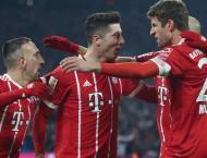 Football: Bayern Munich v Besiktas starting line-ups