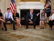 Trump considers arming teachers after shooting tragedy