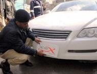 Motorway police penalize 3211 vehicles with illegal plates, tinte ..