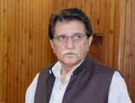 Prime Minister of Azad Jammu and Kashmir (AJK), Raja Farooq Haide ..