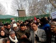 Protest march against killing of civilians at LoC on Wednesday