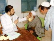 Month-long free eye camp from March 1 in Faisalabad