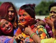 Hindu community celebrates Holi at Pakistan National Council of t ..