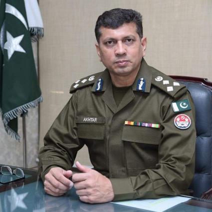 7 Police Officers Including RPO Sargodha Range Dr  Akhtar Abbas