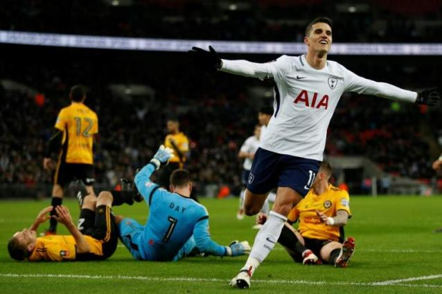 Pochettino praises 'fantastic' Lamela after FA Cup win