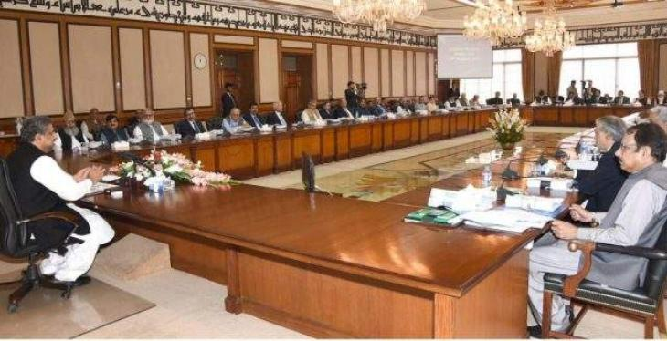 Federal Cabinet offers Fateha for Asma, Bijrani, gives approval of various agendas