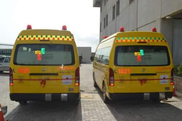 Chinese Consulate donates life-saving ambulance Aman Foundation