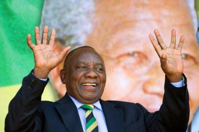 Cyril Ramaphosa sworn in as new South African President