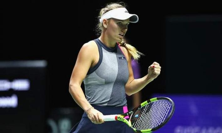 Wozniacki through to Qatar semis
