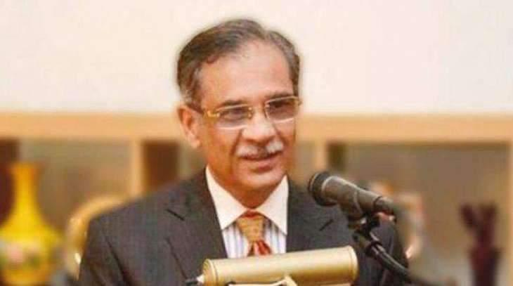 Constitution gives judiciary right to review legislation: CJP