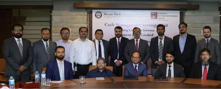 Meezan Bank & IBA sign agreement for Fee Collection