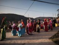 Land and fire: Chinese villagers celebrate pagan festival