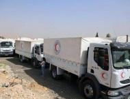 Fighting prevents aid convoys from returning to Syria's war-torn  ..