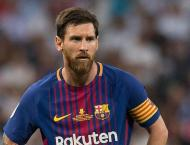 Lionel Messi misses Barca match 'for baby's birth'