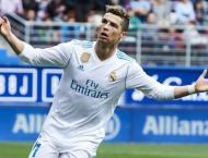 Cristiano Ronaldo double gives Real narrow win over Eibar
