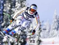 Dressen takes second downhill victory of season