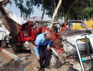 Six killed, 12 injured in accident in Islamabad