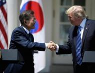 S Korea's top diplomat visits US ahead of summits