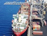 Shipping Activity at Port Qasim 15 March 2018