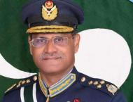 Chief of the Air Staff Air Chief Marshal Sohail Aman pays farewel ..