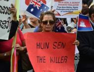 Protestors stand up to Cambodia's Hun Sen in Australia