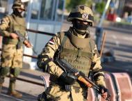 Egypt military says 36 militants killed in Sinai