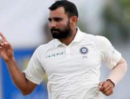 Indian cricket board renews bowler Shami's contract