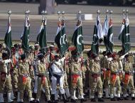 Spectacular joint military parade held to mark Pakistan Day