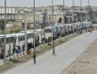 Syria rebels prepare to quit enclave on Damascus doorstep