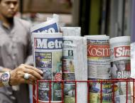 Malaysia proposes 10 years' jail for 'fake news'
