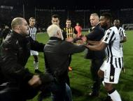 Greek football league to resume Saturday after ban: officials