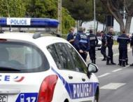 Hunt underway for driver who tried to ram French soldiers