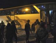 Over 7,000 rebels, families evacuate Syria's Eastern Ghouta