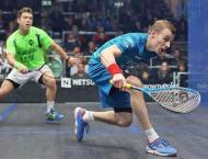 Squash star Matthew's title bid aided by Ennis-Hill's wise words