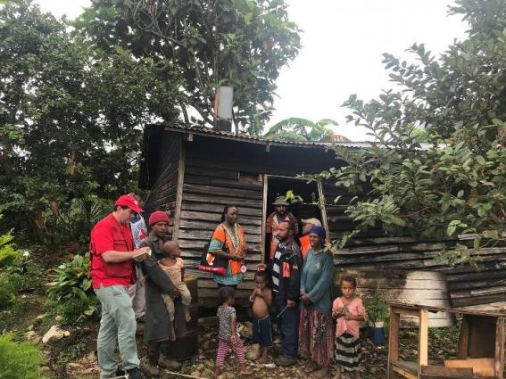 Quake relief for PNG