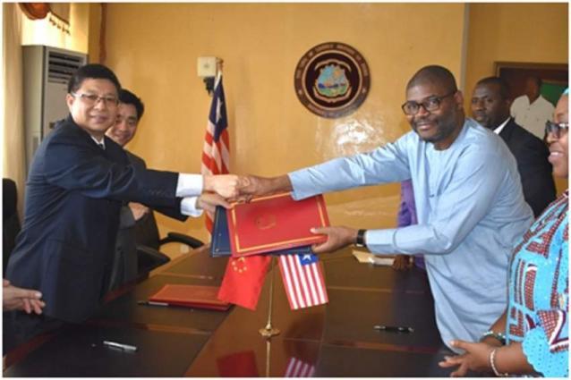 China Donates Rice To Liberia