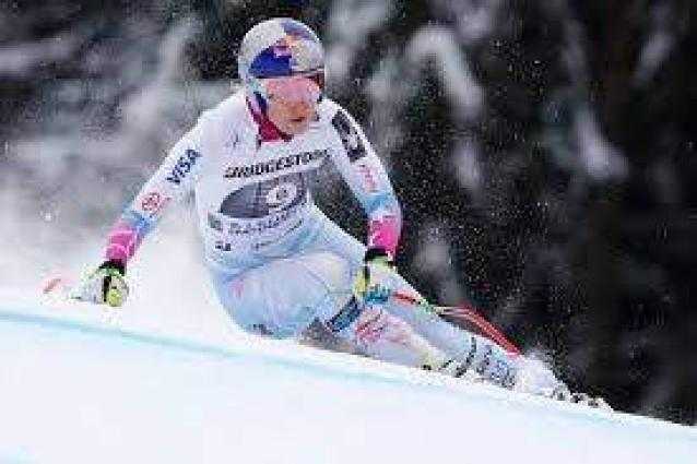 Goggia beats Vonn to women's downhill skiing World Cup title