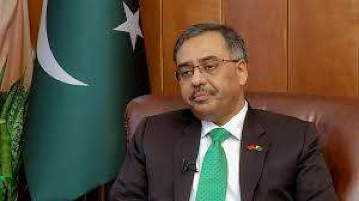 Pakistan envoy to India Sohail Mahmood calls for sober reflection