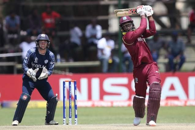 Thunderstorm helps West Indies to qualify for World Cup