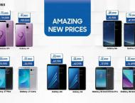 Samsung offers reduced prices on Smartphones